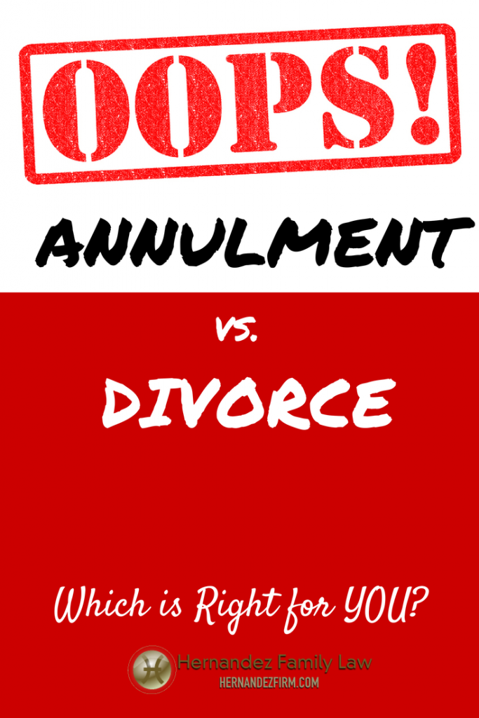 how to get an annulment